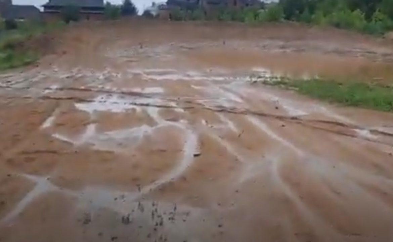 Дождики подмочили кроссовую трассу